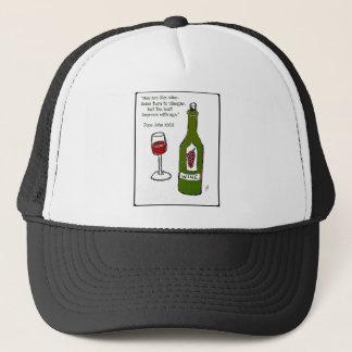 Männer sind wie Wein - irgendeine Drehung zum Truckerkappe