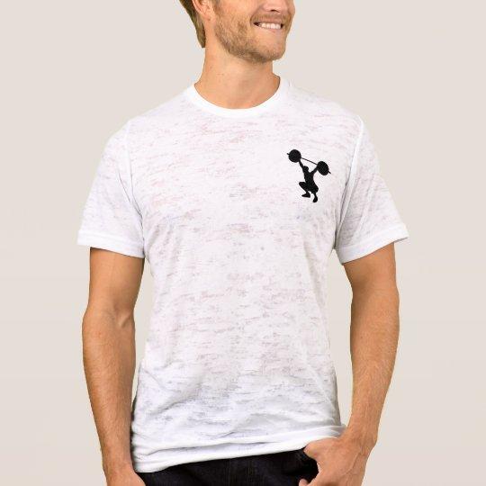 Männer Wappen Schwarz Weiß T-Shirt