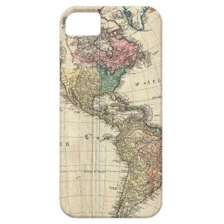 Mannert Karte 1796 des Nordens und des Südamerikas Barely There iPhone 5 Hülle