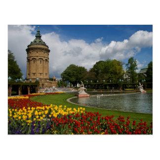 Mannheim, Deutschland Postkarte