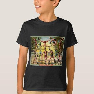 Männliche Akrobaten T-Shirt