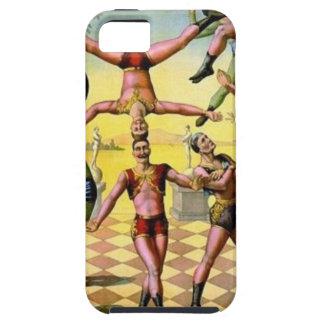 Männliche Akrobaten Tough iPhone 5 Hülle