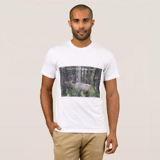 Männliche Elche, großartiger Teton Nationalpark, T-Shirt