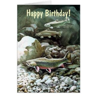 Männliche Geburtstags-Karte - kundengerecht Grußkarte