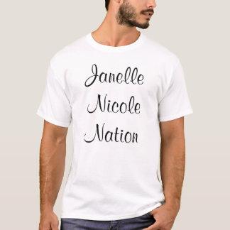 Männliche Janelle Nicole Nations-T - Shirt-Größe L T-Shirt