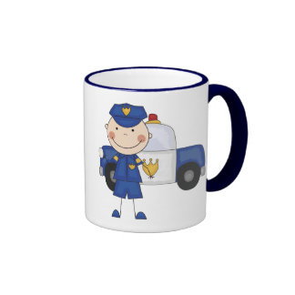 Männliche Polizeibeamte-T-Shirts und Geschenke