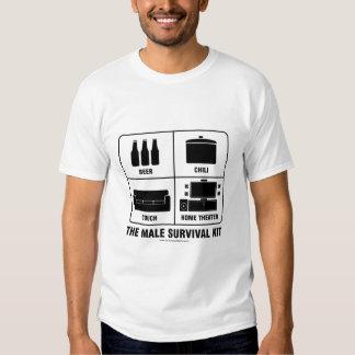 Männliche Überlebensausrüstung Shirts