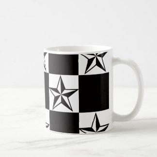 Männlicher dunkler Stern-Druck Kaffeetasse