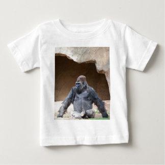 Männlicher Gorilla Baby T-shirt