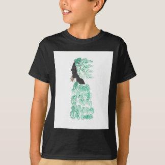 Männlicher Kiefern-Geist T-Shirt