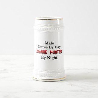Männlicher Krankenschwester-/Zombie-Jäger Bierglas