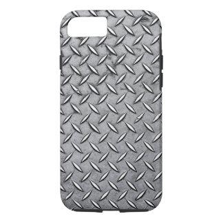 Männliches Diamant-Schnitt-Metall - cooler iPhone 8/7 Hülle