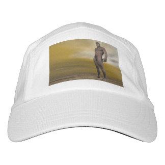 Männliches homo erectus - 3D übertragen Headsweats Kappe