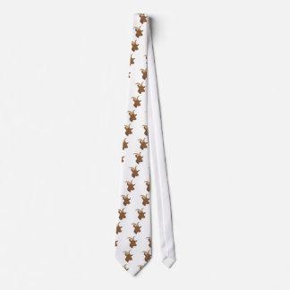 männliches niedliches Ziegengesicht Personalisierte Krawatte
