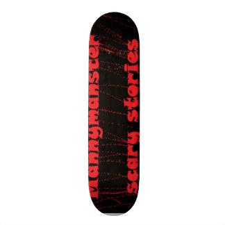 mannymanster beängstigender Geschichten Skateboard