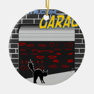 manomtr Garage Keramik Ornament