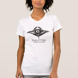 Manta-Strahl die Crew-des T-Shirts der Frauen der