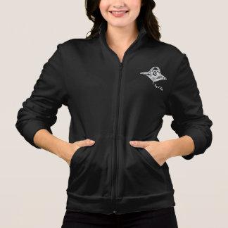 Mantarochen die Jacken-Weiß-der Grafik der Frauen