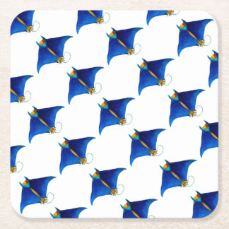 Mantarochenkunst Rechteckiger Pappuntersetzer