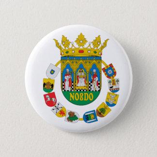 Mantel Sevillas (Spanien) von Arms2 Runder Button 5,1 Cm