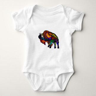 Mantel vieler Farben Baby Strampler