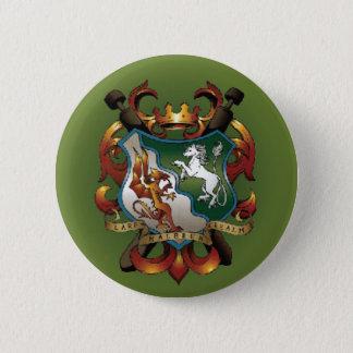 Mantel-von-Arme Knopf Runder Button 5,1 Cm