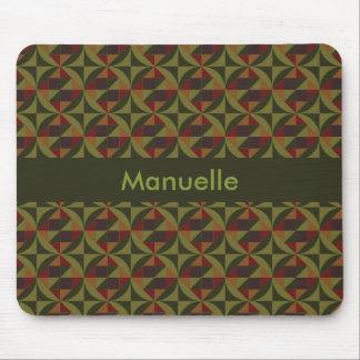 Manuelle geometrisches Muster Mousepad