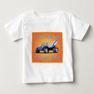Manx cal-Strand-Junge Baby T-shirt