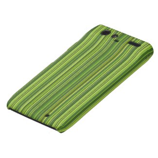 Viele bunte Streifen im grünen Muster Droid RAZR Hüllen