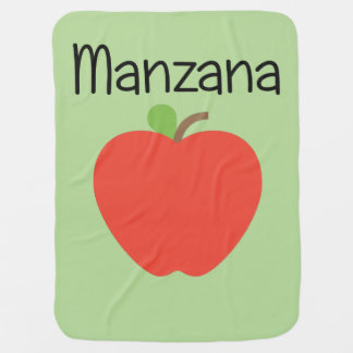 Manzana (Apple) Rot Kinderwagendecke