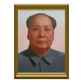 Mao-Porträt Poster