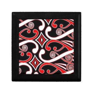 Maori- Entwürfe Schmuckschachtel
