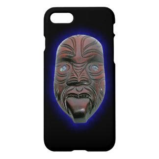 Maori- geschnitzte Maske iPhone 8/7 Hülle