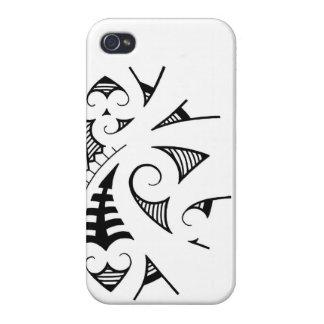 Maori- koru Tätowierungsentwurf iPhone 4 Etuis