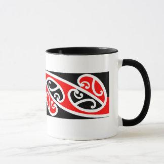 Maori- Kowhaiwhai Muster 2 - Tasse