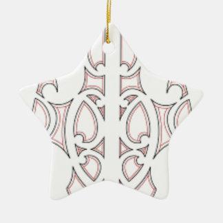 Maori- Stammes- Kunst Keramik Ornament