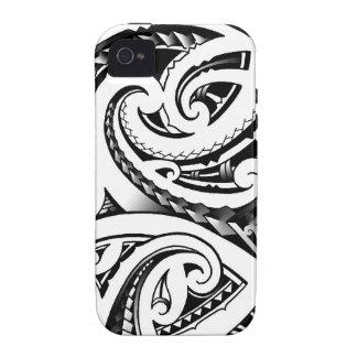 Maori- Tätowierung entwirft Neuseeland moko iPhone 4/4S Cover