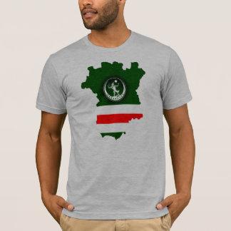 Map+Wolf+Flag T-Shirt