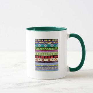 Mapocho Stammes- große Wecker-Tasse Tasse