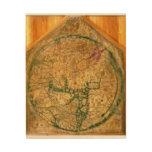 Mappa Mundi, c.1290 Holzdruck