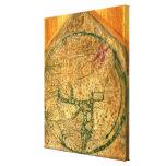 Mappa Mundi, c.1290 Leinwand Drucke