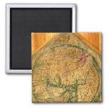 Mappa Mundi, c.1290 Quadratischer Magnet
