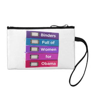 Mappen voll der Frauen für Obama-Kupplung