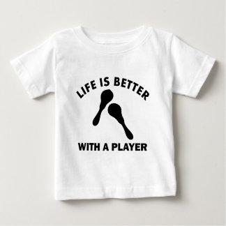 Maracas Vektorentwürfe Baby T-shirt