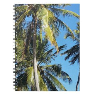 Maragogi Palmen Spiral Notizblock