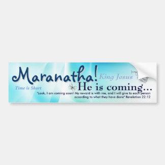 Maranatha Autoaufkleber