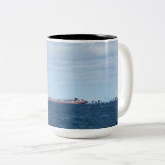 Maräne-Bucht-reine Michigan-Tasse Zweifarbige Tasse