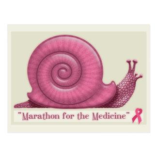 Marathon für die Medizin Postkarte