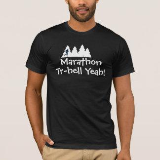 Marathon-Hinterlaufendes Rennen-Shirt T-Shirt