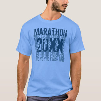 Marathon-kundenspezifisches Jahr-Rennen zur T-Shirt